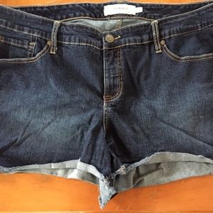 Torrid denim shorts size 22